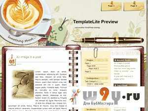 Тема CoffeeDesk для wordpress